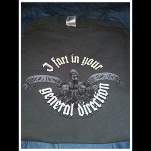 ALSTYLE Vintage Retro Monty Python Graphic T-shirt